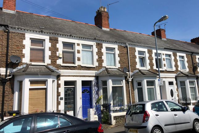 Thumbnail Terraced house to rent in Arran Street, Roath, Cardiff