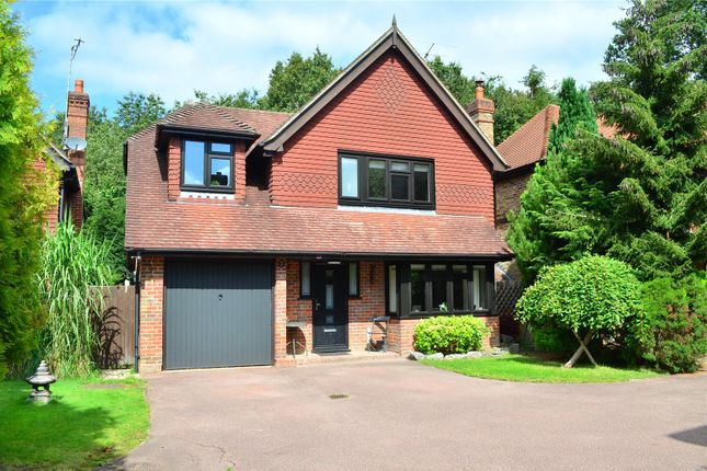 Thumbnail Detached house for sale in Felbridge, West Sussex RH192Pn