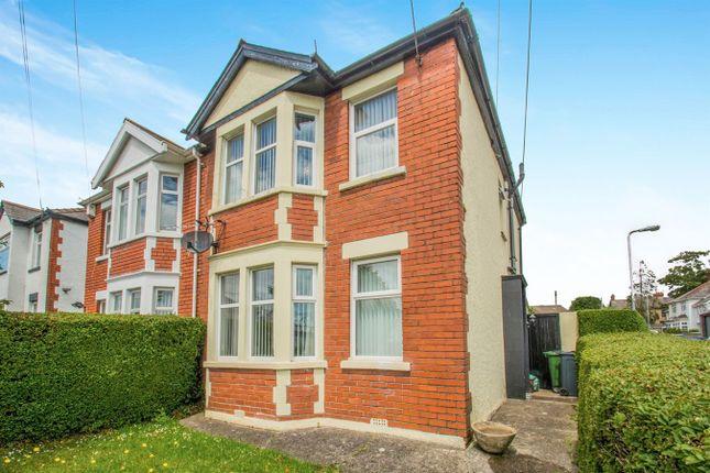 Semi-detached house for sale in Wentloog Road, Rumney, Cardiff