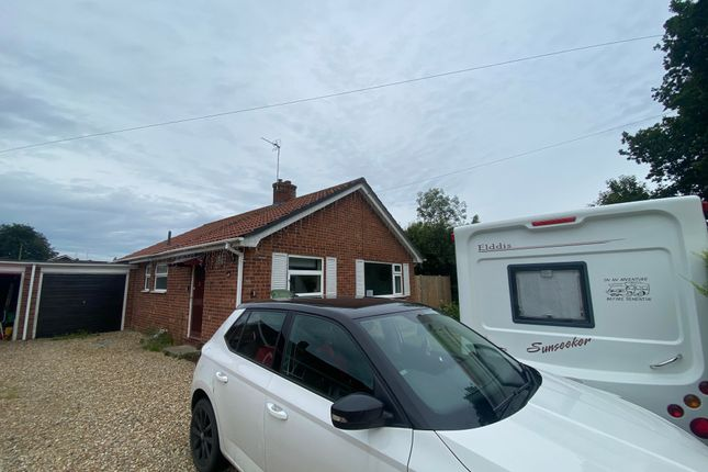 Thumbnail Bungalow to rent in Meadow Drive, Gressenhall, Dereham