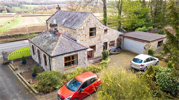 Thumbnail Detached house for sale in West Lodge, Farnley Hill, Corbridge