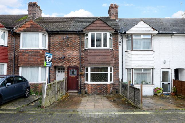 Thumbnail Terraced house to rent in Southern Road, Camberley, Surrey