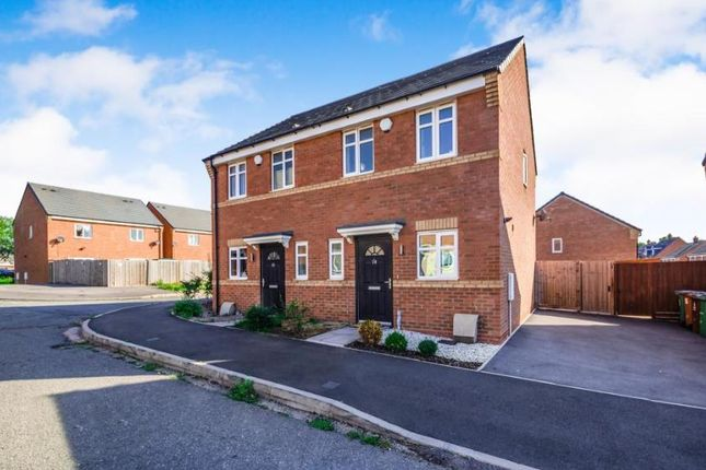 Thumbnail Semi-detached house to rent in Shropshire Close, Walsall