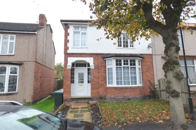 Thumbnail Semi-detached house to rent in Loudon Avenue, Coundon, Coventry