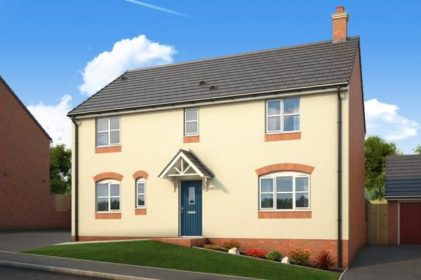 "Thumbnail Property for sale in ""The Kestrel At Malvern View, Bartestree"" at Orchard Vale, Bartestree, Hereford"
