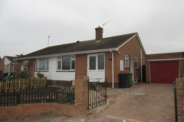 2 bed semi-detached bungalow to rent in Sedgeclaire Close, Pinhoe, Exeter