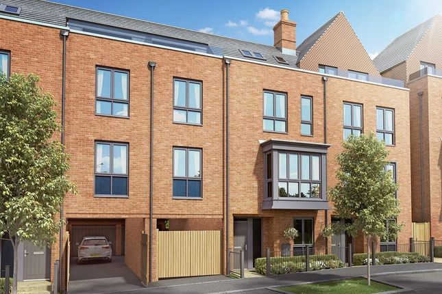 """Thumbnail Terraced house for sale in """"Beech Special"""" at Elms Road, Wokingham"""