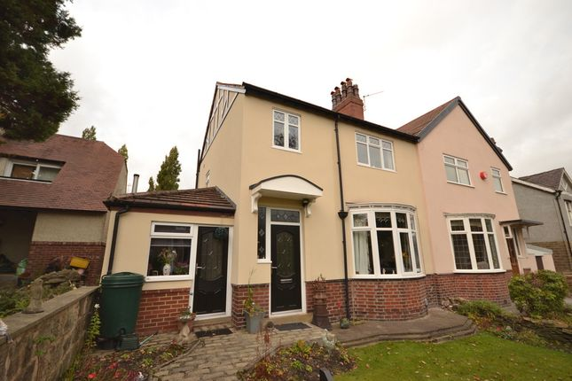 Thumbnail Semi-detached house for sale in Beaumont Park Road, Beaumont Park, Huddersfied
