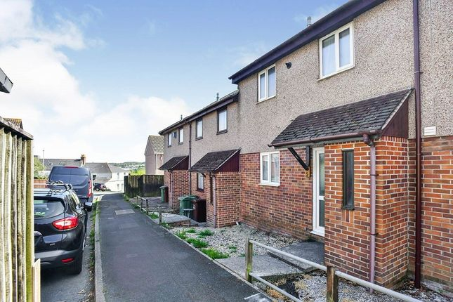 Thumbnail Terraced house to rent in Bridwell Close, Plymouth