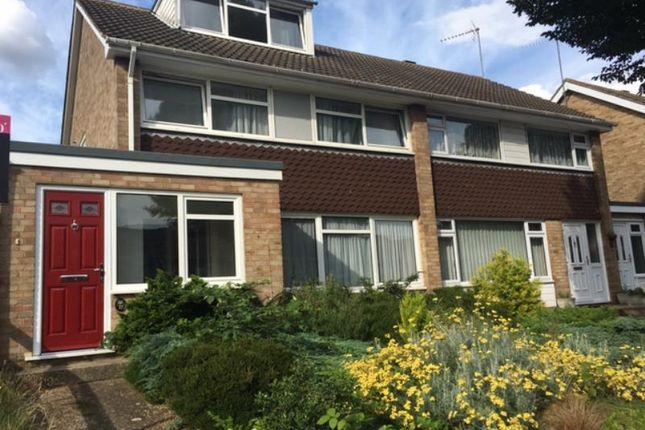Thumbnail Semi-detached house to rent in Snowden Avenue, Vinters Park, Maidstone, Kent