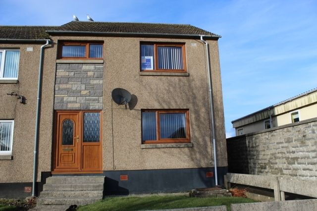 Thumbnail End terrace house for sale in Macleod Road, Wick
