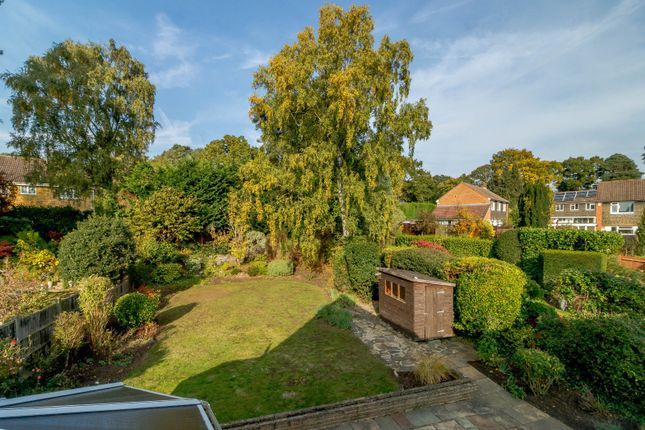 Garden of Laurel Crescent, Woodham, Addlestone GU21