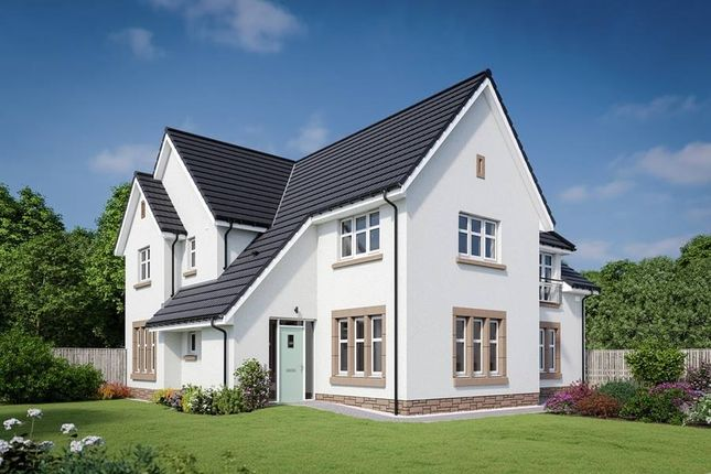 "Thumbnail Detached house for sale in ""The Napier"" at Dalmahoy Crescent, Balerno"