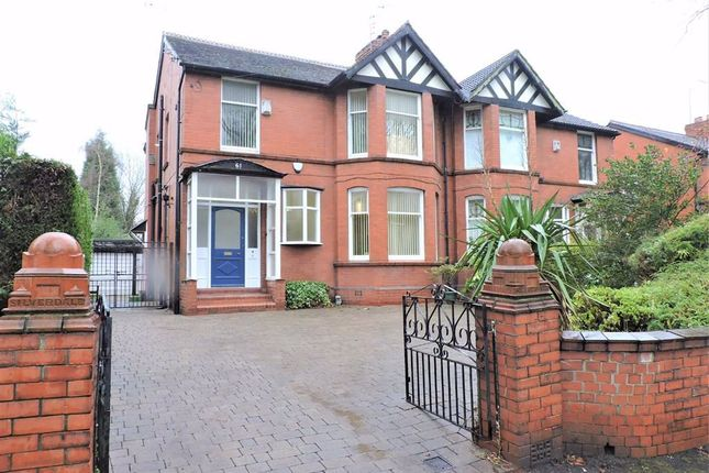Thumbnail Semi-detached house to rent in Grange Avenue, Levenshulme, Manchester