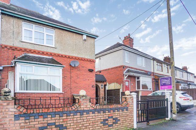 Front View of Abbey Lane, Bucknall, Stoke-On-Trent ST2