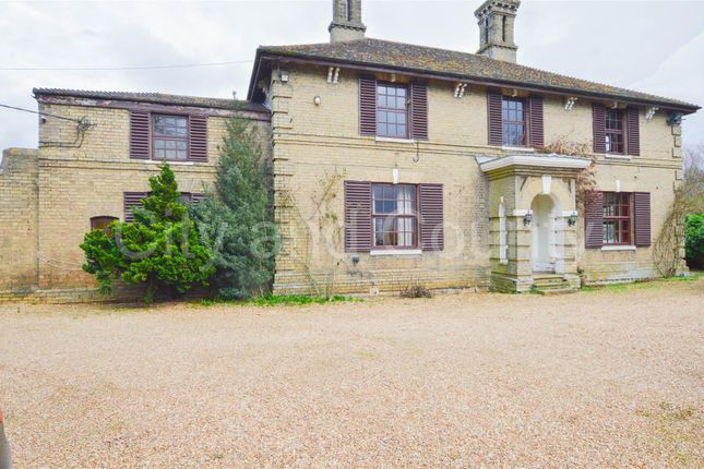 Thumbnail Country house for sale in Eldernell Lane, Coates, Peterborough