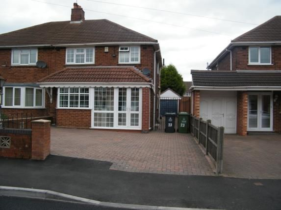 Thumbnail Semi-detached house for sale in Spring Lane, Willenhall, West Midlands