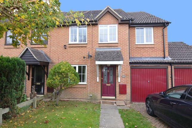 Thumbnail End terrace house to rent in Trefoil Close, Wokingham, Berkshire