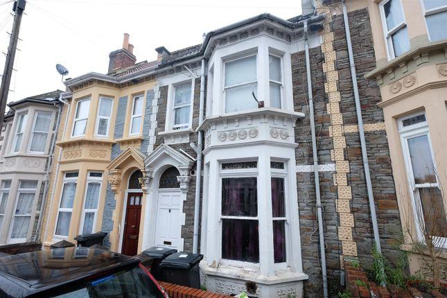 Thumbnail Terraced house for sale in Wellington Avenue, Bristol