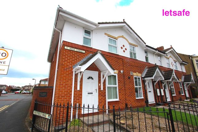 Thumbnail Terraced house to rent in West Street, Wallsend