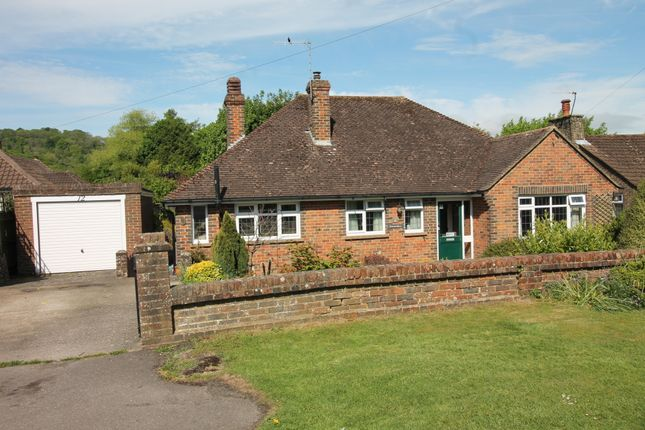 Thumbnail Detached bungalow for sale in Cross Lane, Findon Village