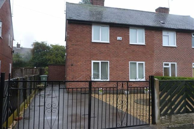 Thumbnail Semi-detached house to rent in Tapton Way, Calow, Chesterfield, Derbyshire