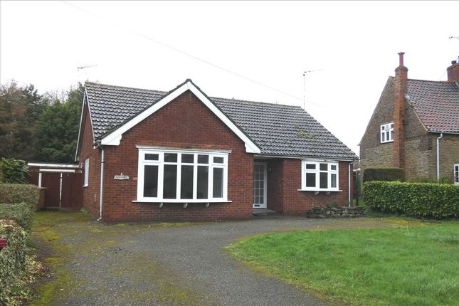 Thumbnail Detached bungalow for sale in Burton Road, Thealby, Scunthorpe
