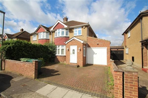 Thumbnail Semi-detached house for sale in Stanwell Gardens, Stanwell, Staines
