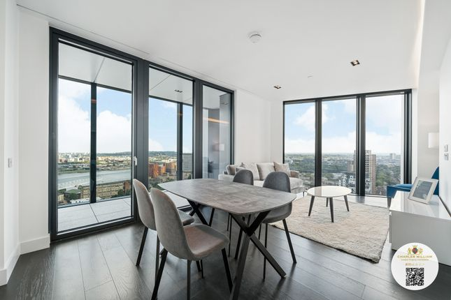Thumbnail Flat to rent in 225 Marsh Wall, London