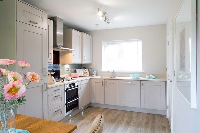 Thumbnail Detached house for sale in Plot 82, The Finan, Burton Road, Manorfields, Castle Gresley