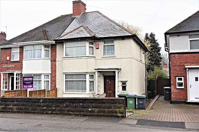 Thumbnail Semi-detached house for sale in Old Chapel Road, Smethwick