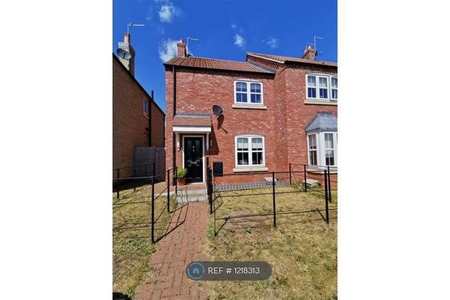 2 bed semi-detached house to rent in Jarrow Court, Gainsborough DN21