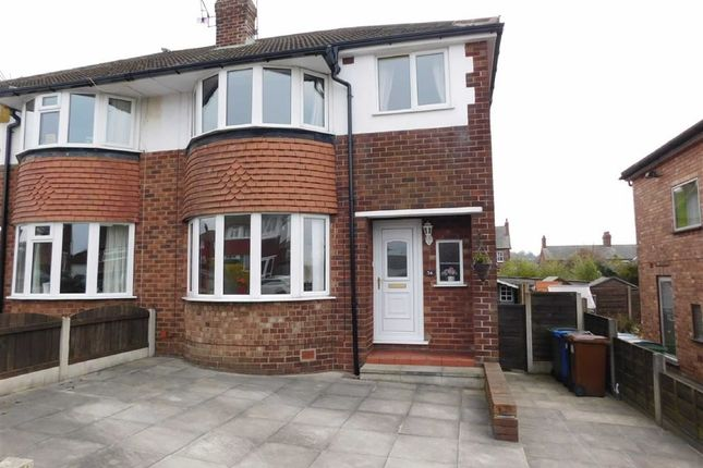 3 bed semi-detached house for sale in Norbury Drive, Marple, Stockport