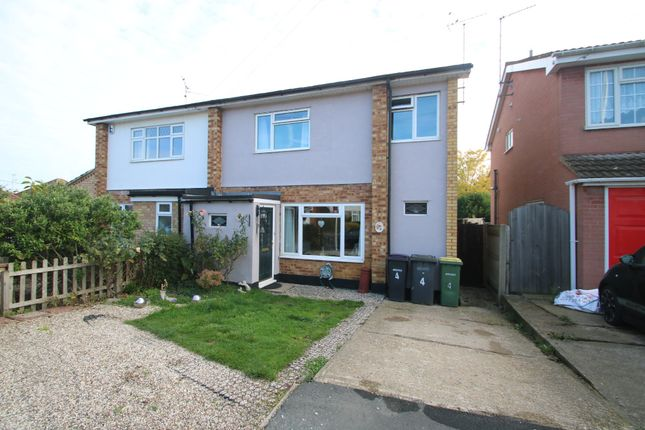 Thumbnail Semi-detached house for sale in Woodside Chase, Hockley