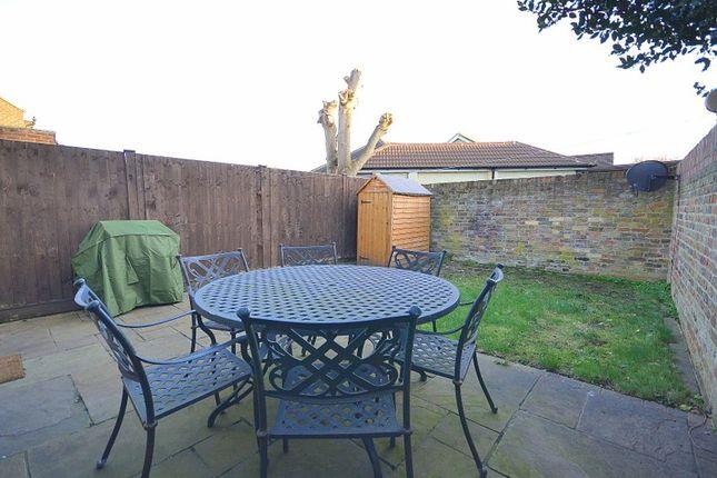 Garden of Haslett Road, Shepperton TW17