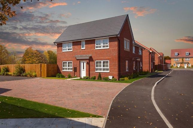 "Thumbnail Semi-detached house for sale in ""Ennerdale"" at Tiber Road, North Hykeham, Lincoln"