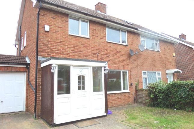 Thumbnail Semi-detached house to rent in Coleridge Way, West Drayton
