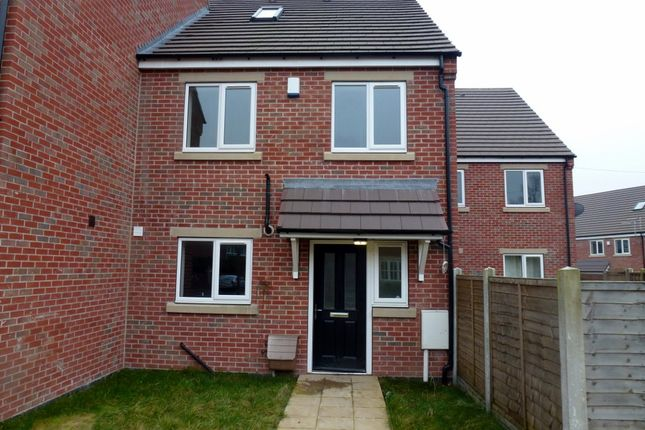 Thumbnail Terraced house to rent in Bridge Close, Sutton-In-Ashfield