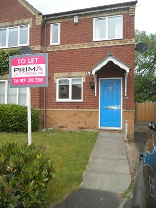 Thumbnail Semi-detached house to rent in Camellia Gardens, Pendeford, Wolverhampton