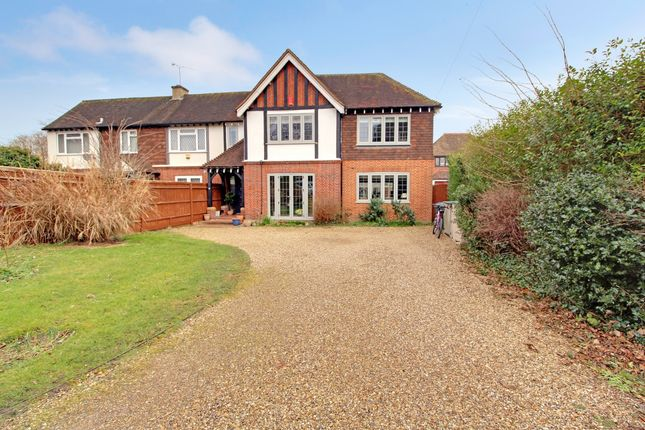 5 bed semi-detached house for sale in Straight Road, Old Windsor, Berkshire