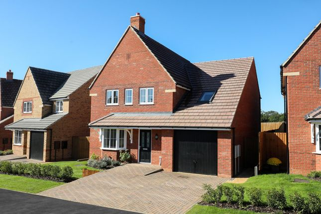 "Thumbnail Detached house for sale in ""Harrogate"" at Blackthorn Crescent, Brixworth, Northampton"