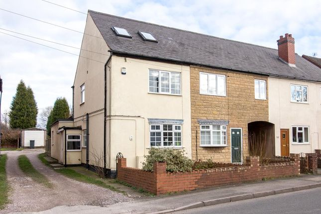 Thumbnail End terrace house for sale in Coppice Road, Walsall Wood, Walsall