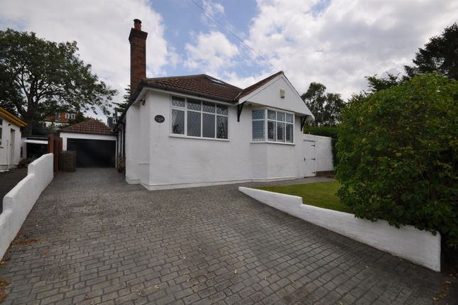 Thumbnail 3 bed detached bungalow for sale in Westway, Lower Heswall, Wirral