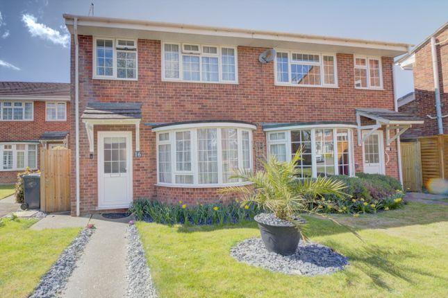 3 bed semi-detached house for sale in Juxon Close, Chichester PO19