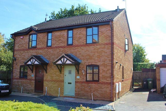 Thumbnail Semi-detached house for sale in Coughton Drive, Sydenham, Leamington Spa