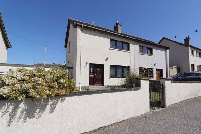Thumbnail Semi-detached house for sale in Moray Street, Hopeman, Elgin