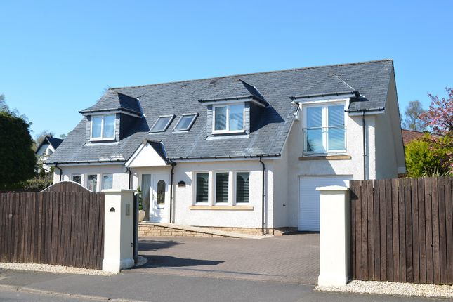 Thumbnail Detached house for sale in Golfhill Drive, Helensburgh