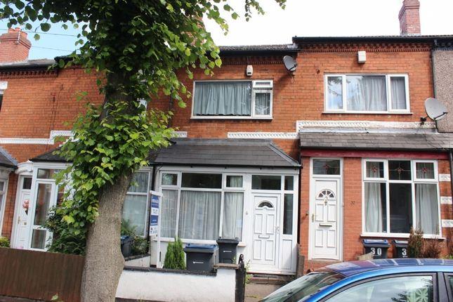 Thumbnail Terraced house for sale in Oliver Road, Erdington, Birmingham