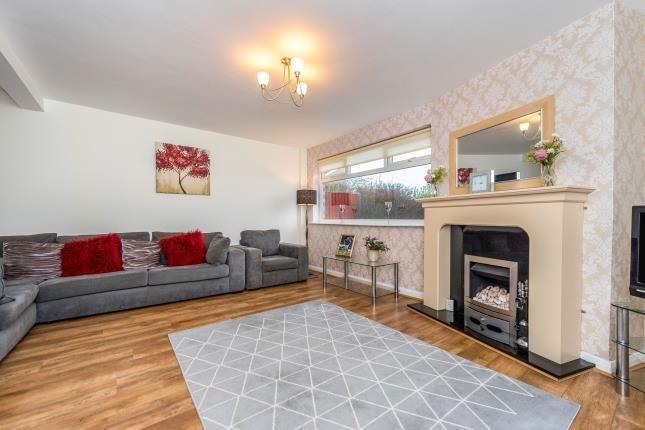 Living Room of Sandhills, Hightown, Liverpool, Merseyside L38