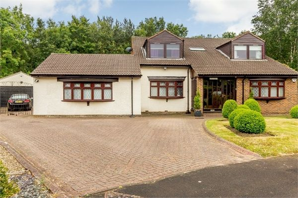 Thumbnail Detached house for sale in Whitby Drive, Washington, Tyne And Wear